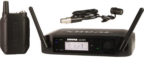 Shure GLXD14E/85 Z2 (A045809) - цифровая радиосистема с петличным микрофоном WL185 (Black)