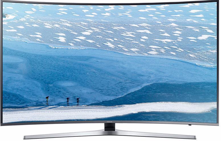 Samsung UE55KU6650UXRU - телевизор (Silver)