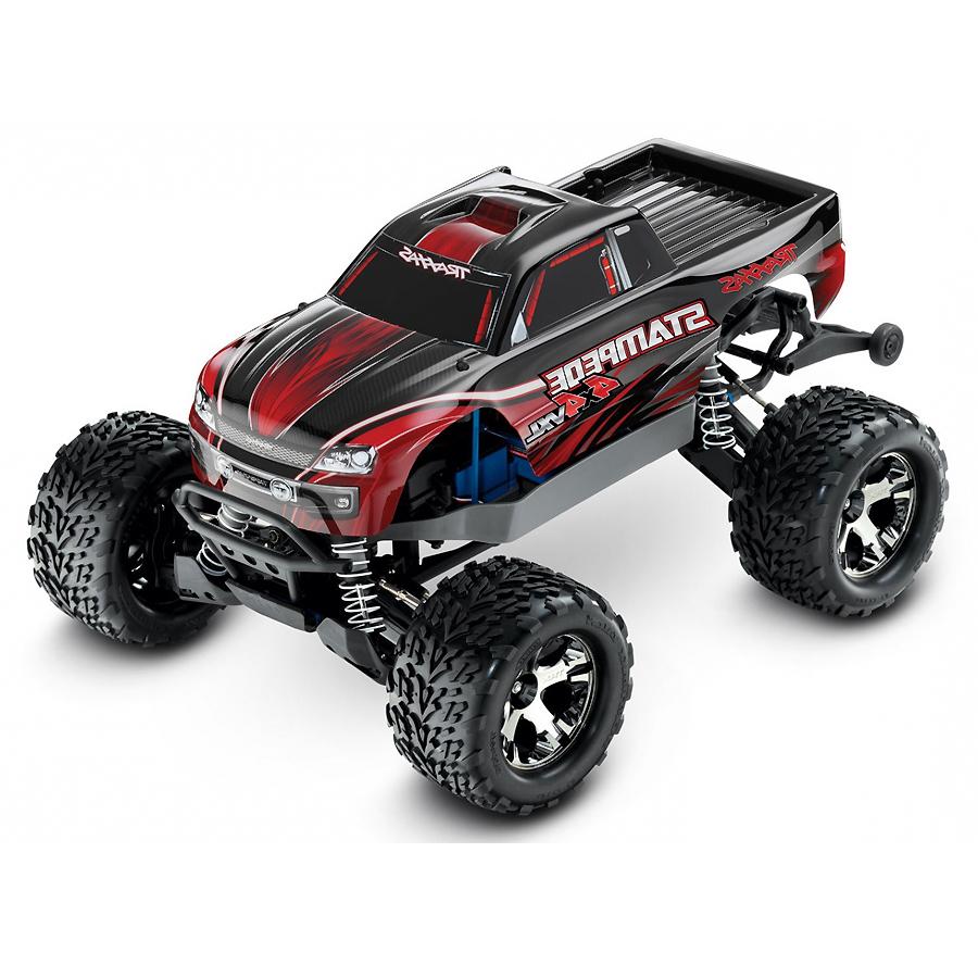 Traxxas Stampede 1:10 - радиоуправляемый автомобиль (Red)