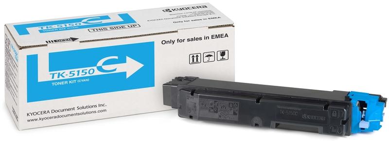 Kyocera TK-5150C - тонер-картридж для P6035cdn/ M6035cidn/ M6535cidn (Cyan)