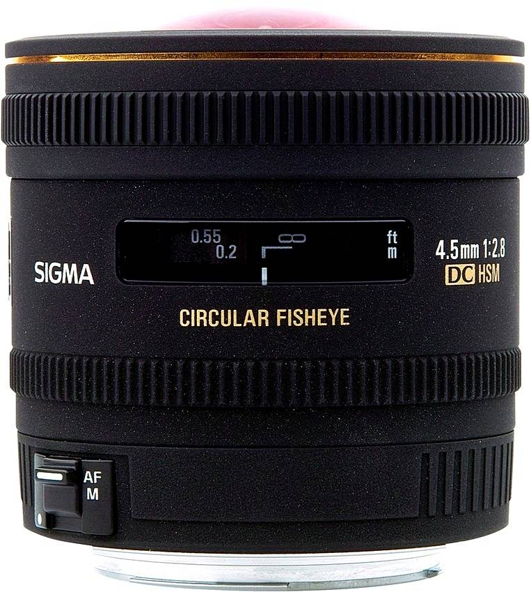 Sigma EX DC Circular Fisheye HSM AF 4.5mm 486954