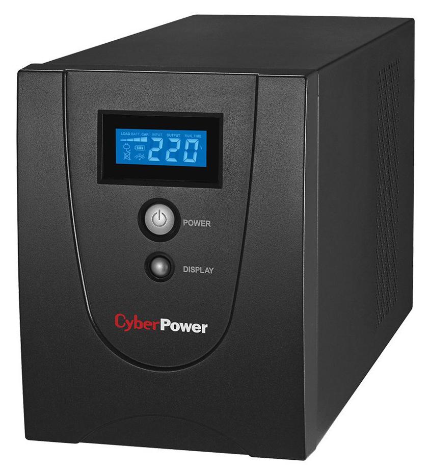 CyberPower VALUE1200EILCD - источник бесперебойного питания (Black)