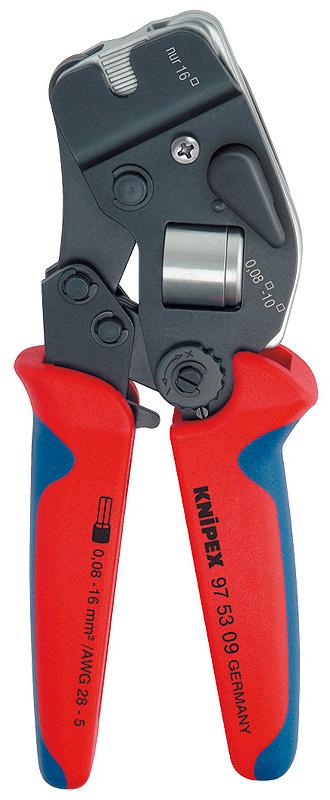 Knipex KN-975309 - обжимник ручной (Red/Blue)