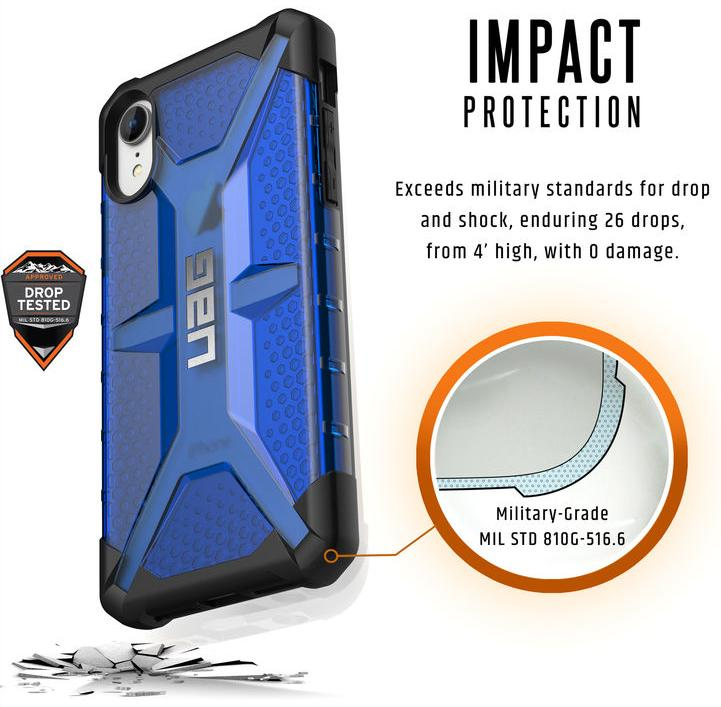 Чехол Urban Armor Gear Plasma для iPhone XR (Cobalt)