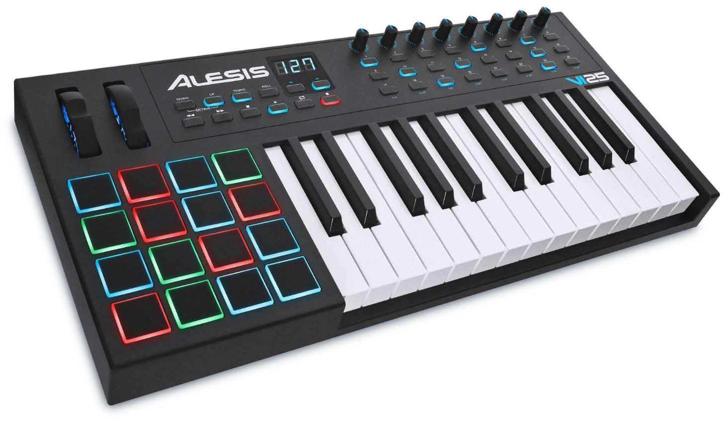Alesis VI25 - миди-клавиатура (Black)