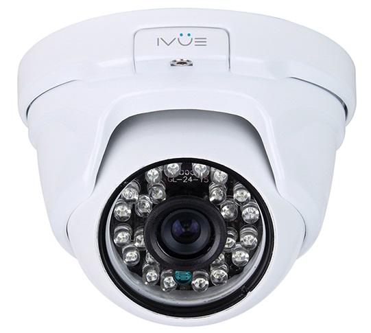 iVue iVue-HDC-OD13F36-20 - внешняя купольная антивандальная AHD-камера (White)