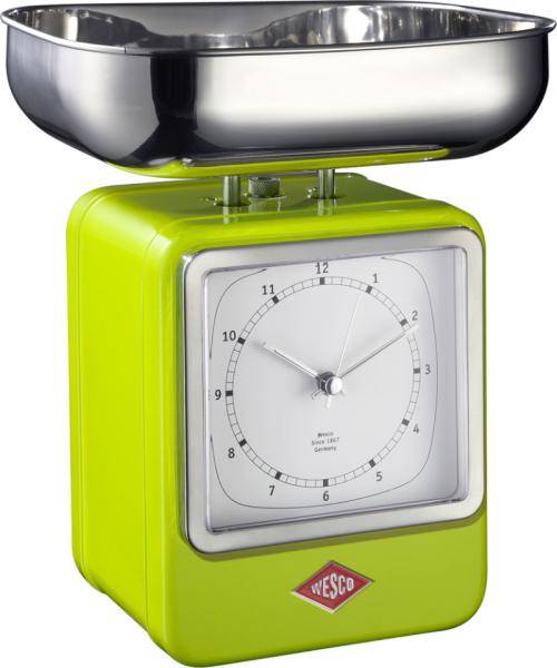 Wesco 322204-20 - кухонные весы (Lime)