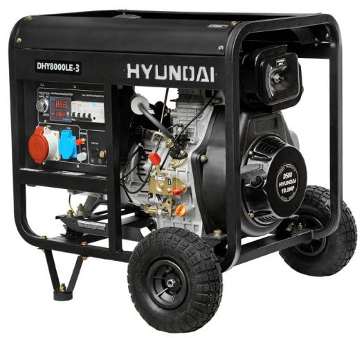 Hyundai DHY 8000LE - дизельный генератор (Black)