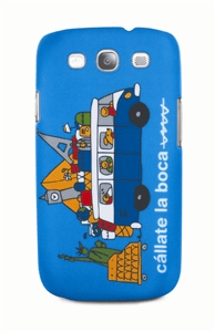 Купить Callate la Boca Furgo Viajera Gala (CBCT004) - чехол для Samsung Galaxy S3