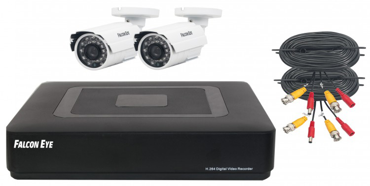 Falcon Eye FE-0104 AHD KIT Light.1 - комплект видеонаблюдения