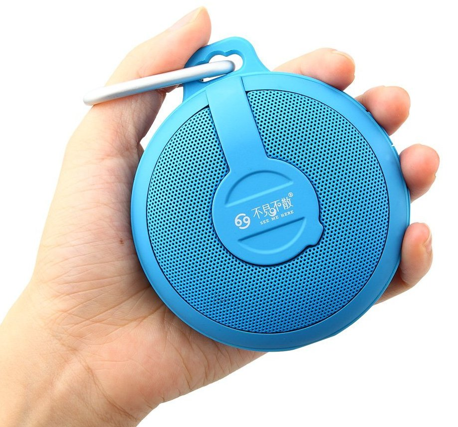 Портативный динамик GO BV210 Bluetooth wireless Portable Speaker Subwoofer (dark blue)