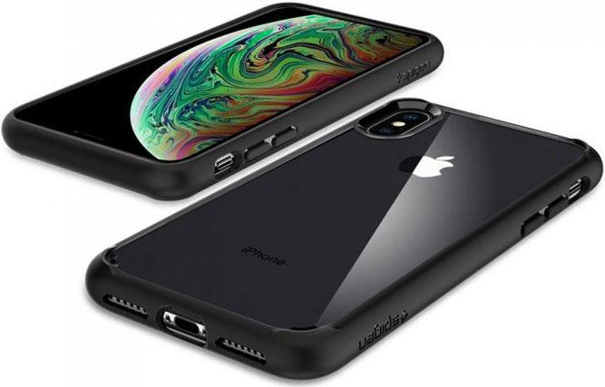 Чехол Spigen Ultra Hybrid (065CS25128) для iPhone Xs Max (Matte Black)