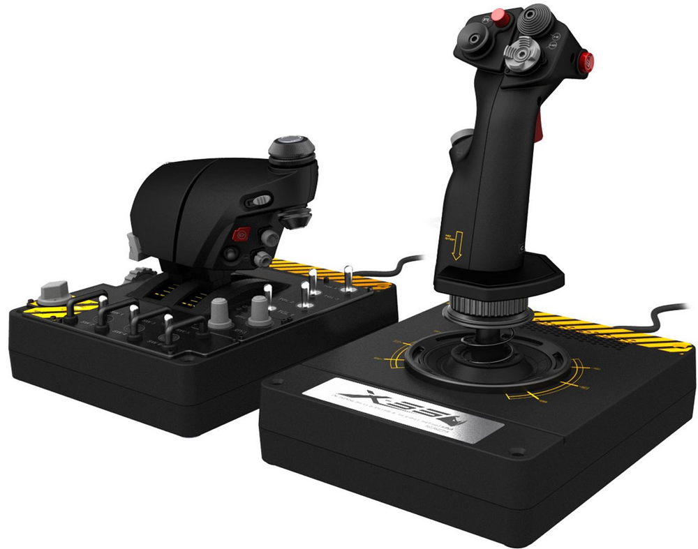 X-55 Rhino H.O.T.A.S. System For PC