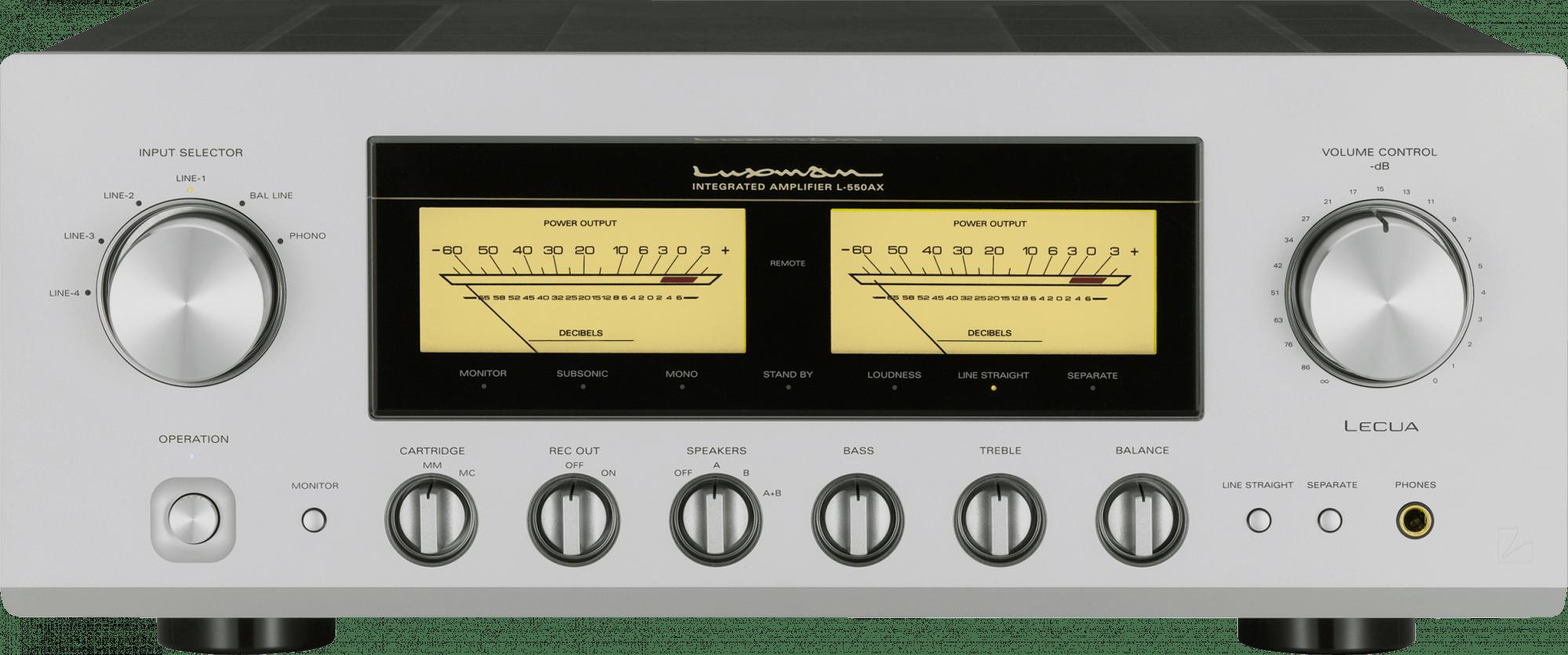 Luxman L-550AX - интегральный усилитель (Silver)