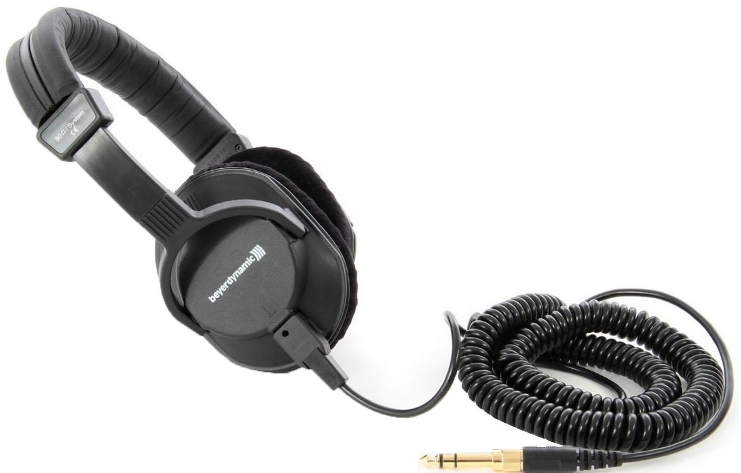 Beyerdynamic DT 250 80 Ohm - студийные наушники (Black)