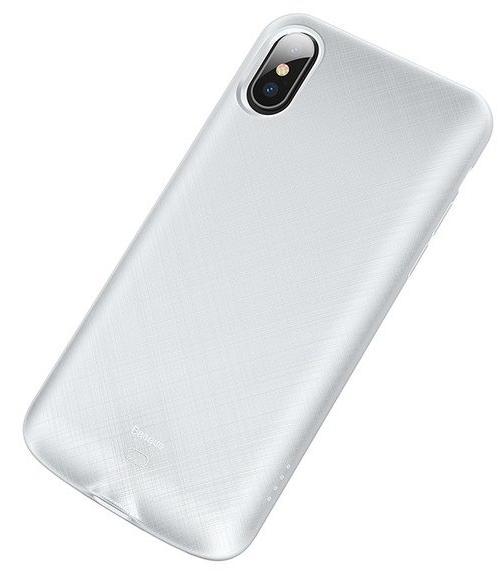 Чехол-аккумулятор Baseus Continuous Backpack 4000 mAh (ACAPIPH58-BJ02) для iPhone Xs (White)