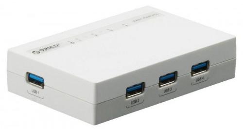 Orico H4988-U3 USB 3.0 - USB-концентратор (White)