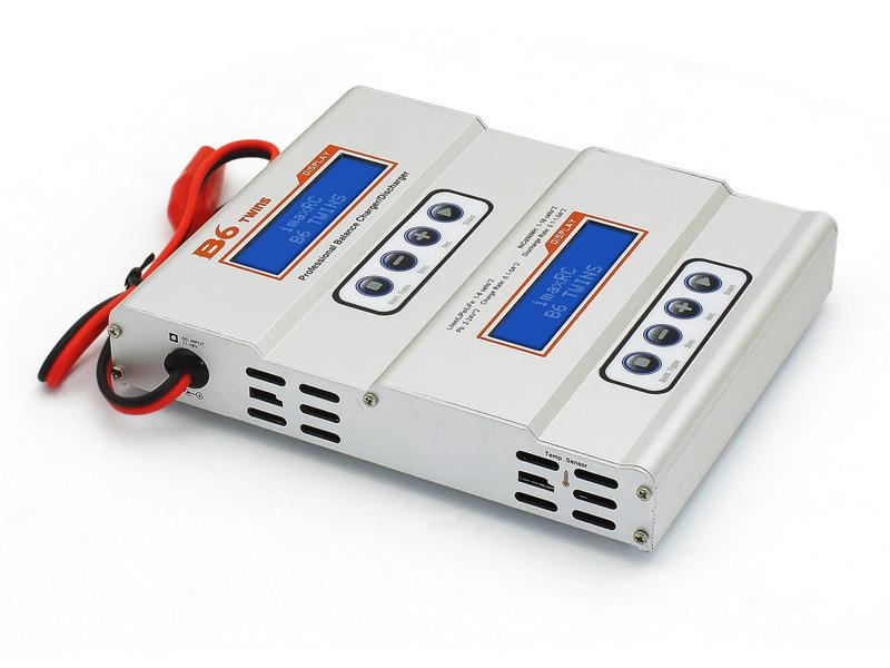 IMaxRC B6 Twins DC Pro charger (IMAX-B6TW) - зарядно- разрядное устройство