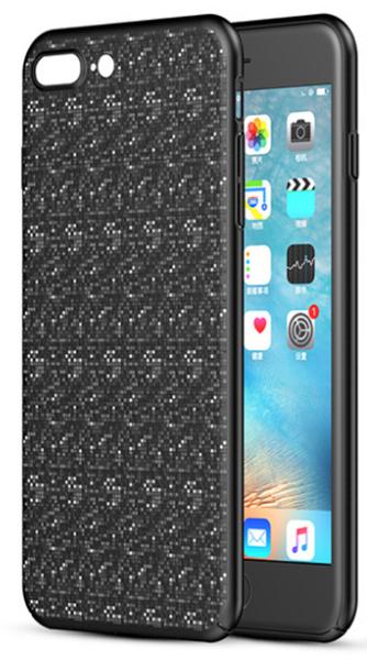 Baseus Plaid Case (WIAPIPH7P-GP01) - чехол-накладка для iPhone7 Plus (Black)