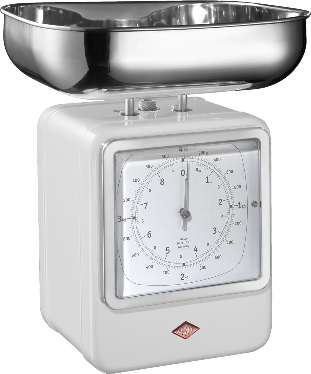 Wesco 322204-01 - кухонные весы (White)