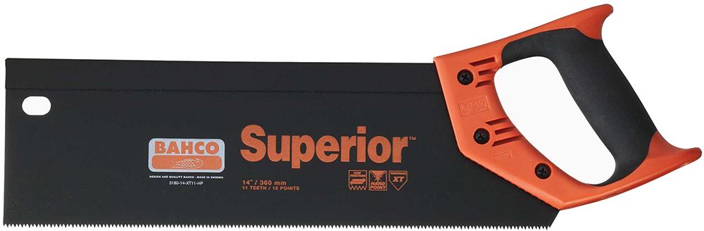 Bahco 3180-14-XT11-HP - ножовка с обушком 350 мм (Black/Orange)