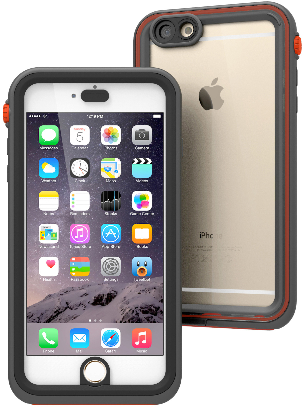 Купить Catalyst Waterproof Case - водонепроницаемый чехол для iPhone 6 Plus и 6S (Rescue Ranger)