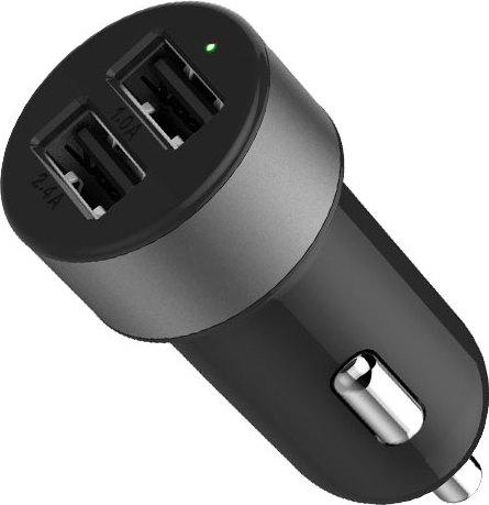 LAB.C Dual USB Car Charger AL LABC-582-GY