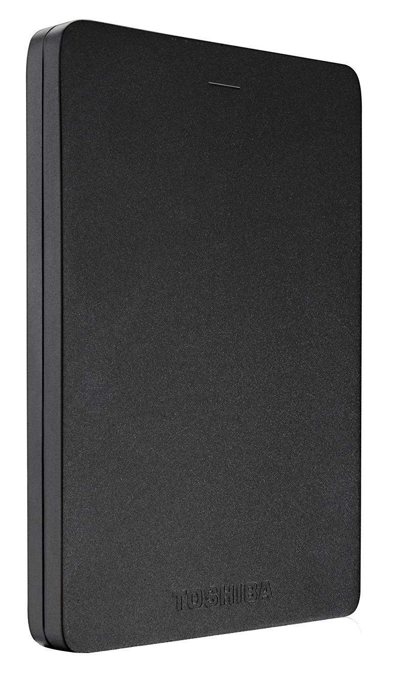 Купить Toshiba Canvio Alu 2.5 , 2Tb, USB 3.0 (HDTH320EK3CA) - внешний жесткий диск (Black)