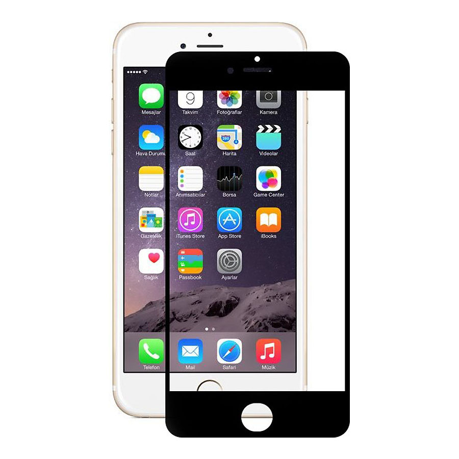 Onext 40937 - защитное стекло для Apple iPhone 6 Plus (Black)