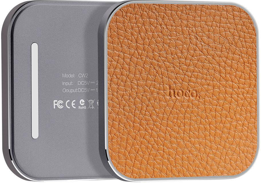 Hoco CW2 - беспроводное зарядное устройство (Grey)