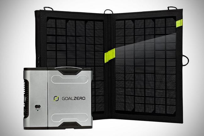 Goal Zero Sherpa 50 Solar Kit + Sherpa Inverter - комплект для зарядки от iCover