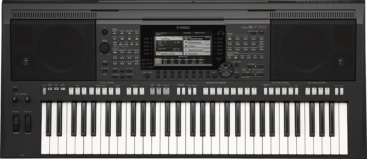 Yamaha PSR-S770 - синтезатор (Black)