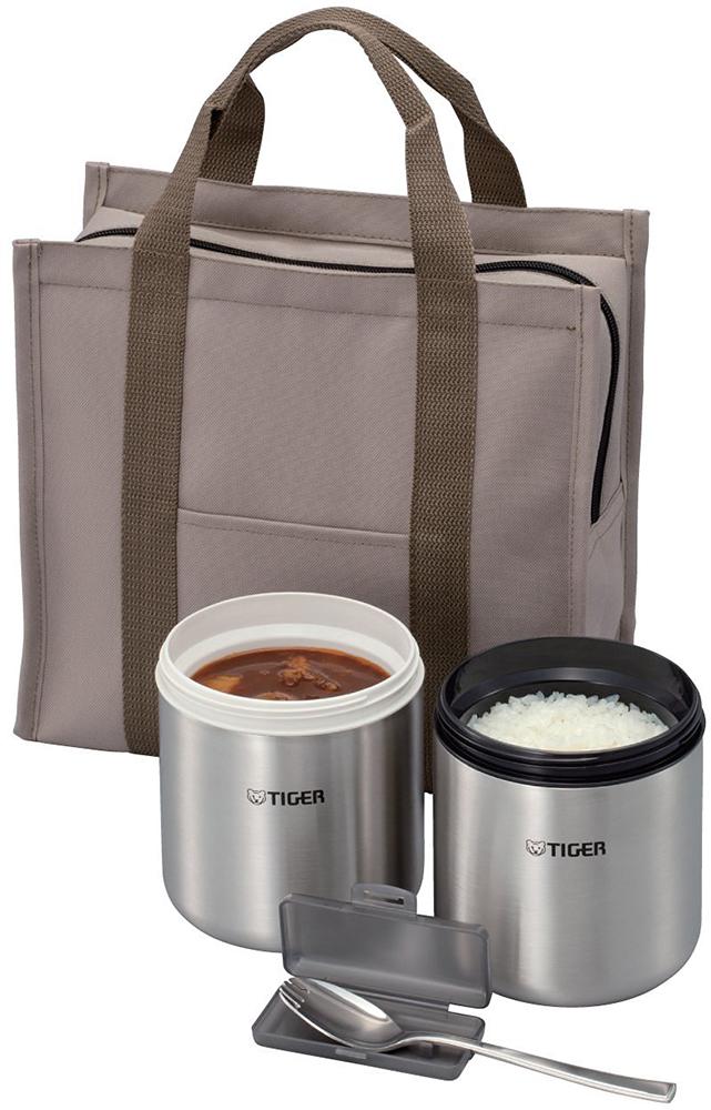 Tiger LWY-W046 T - контейнеры для еды в изотермической сумке (Brown)