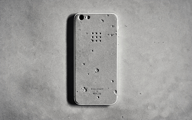 Накладка POSH-PROJECTS LUNA CONCRETESKIN для iPhone 5/5S