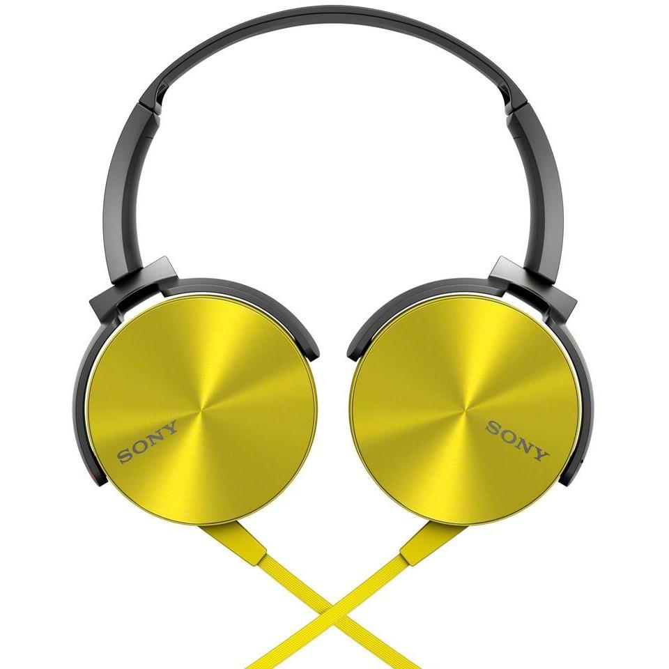 Sony MDR-XB450AP/Y - накладные наушники (Yellow)