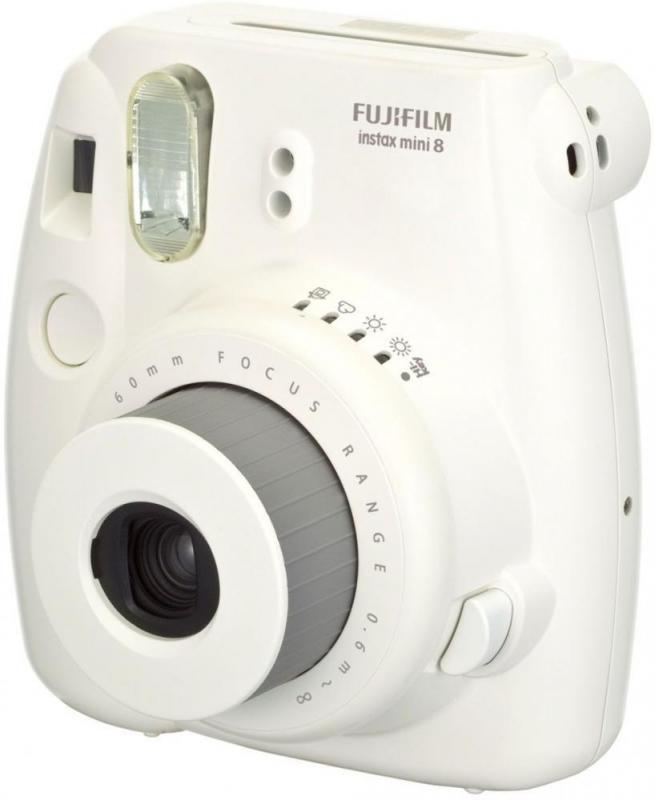 Fujifilm Instax Mini 8 - камера моментальной печати (White)
