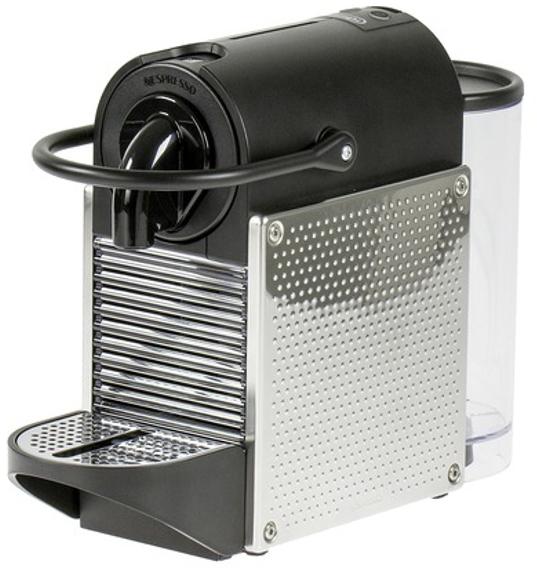 Delonghi EN 125 Pixie - капсульная кофемашина (Black/Silver)