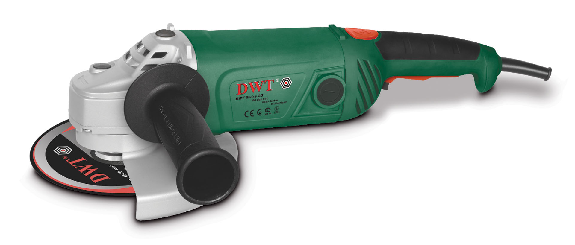 DWT WS18-180 T - угловая шлифмашина (Green)Угловые шлифовальные машинки (Болгарки)<br>Шлифмашина<br>