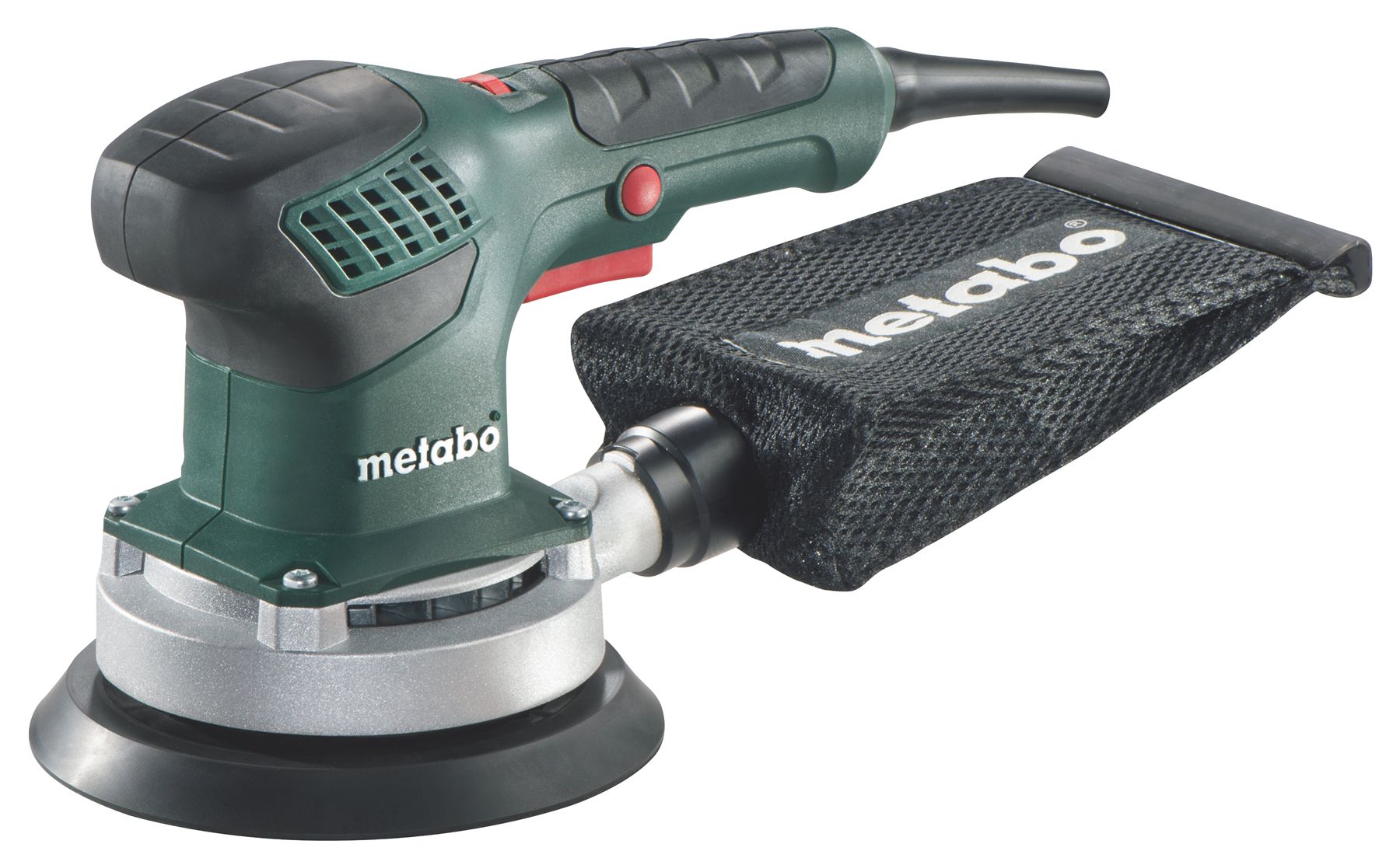 Metabo SXE 3150 (600444500) - эксцентриковая шлифмашина + кейс (Green)