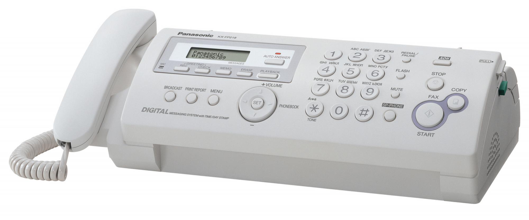 KXФаксы<br>Факс<br>