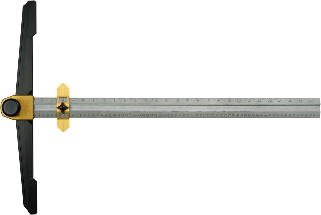 Stanley STHT1-05933 - угольник Т-образный для гипсокартона  угольник stanley steel 60 см