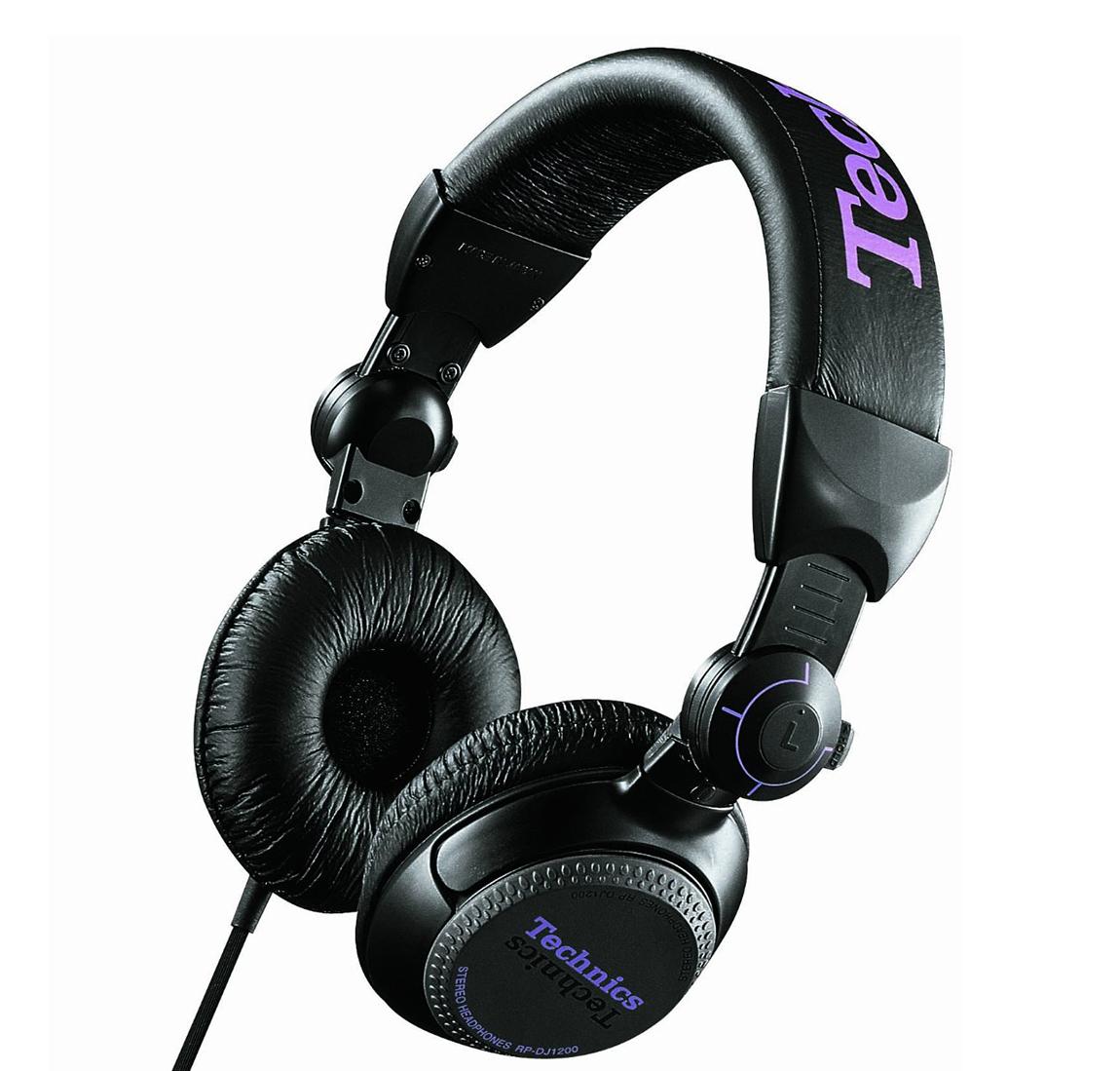 Technics RP-DJ1200E-K - мониторные наушники (Black)