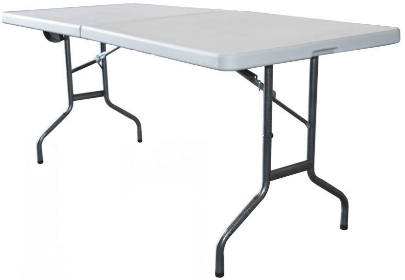 Green Glade F183 - складной стол (White) от iCover