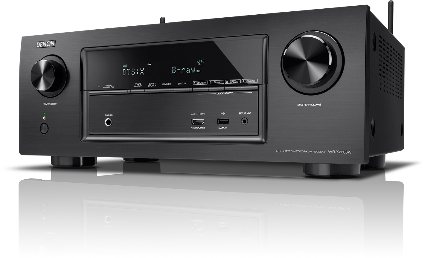 Denon AVR-X2300W - AV-ресивер (Black)