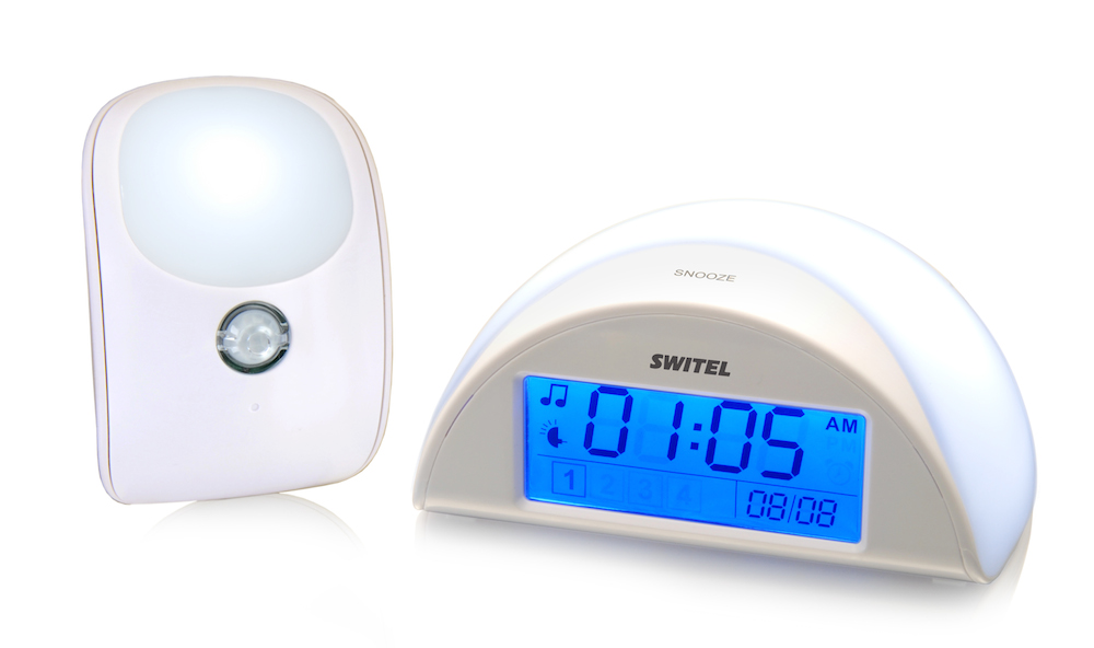 Детский ночник Switel BC110 с функцией радионяни автоматический детский ночник switel с функцией радионяни bc110