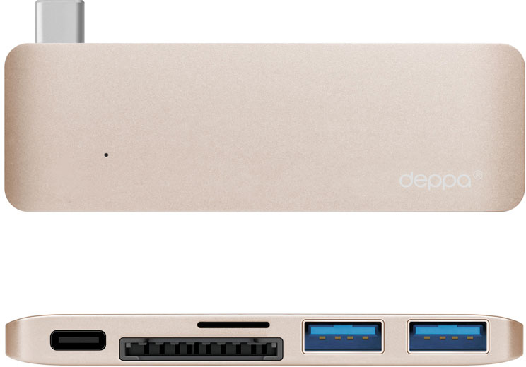 Deppa Adapter USB-C 72219