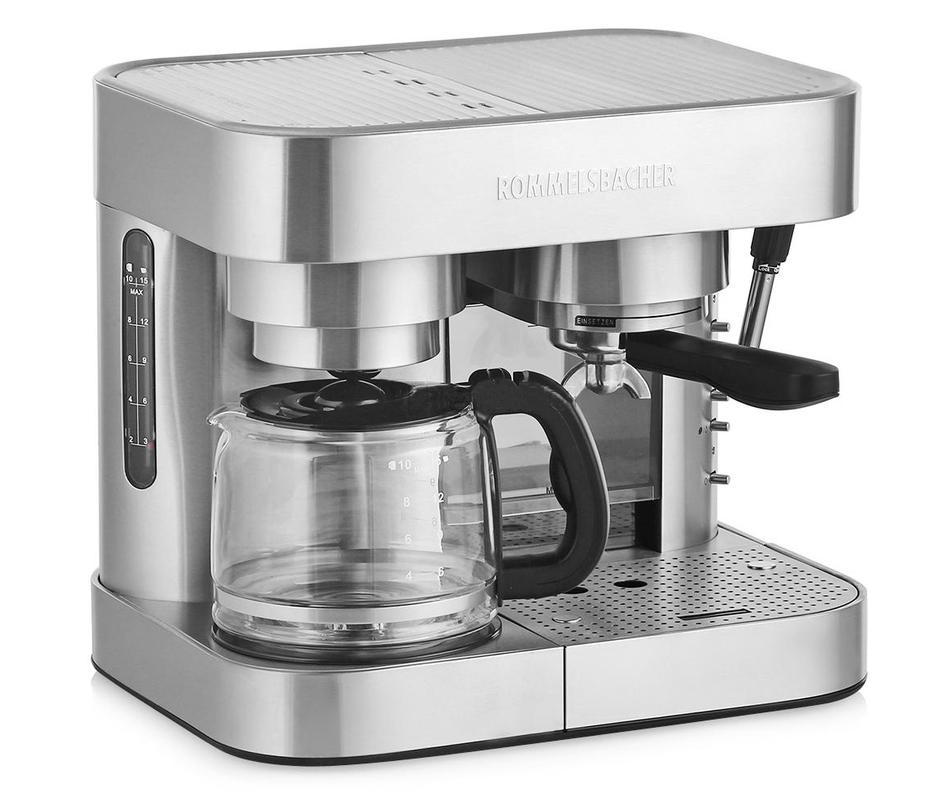 Rommelsbacher EKS 3000 - капельная кофеварка (Silver)