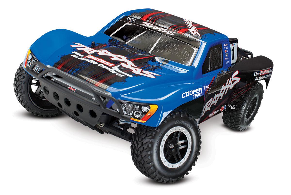 Traxxas Slash 4x4 VXL 1:10 - радиоуправляемый автомобиль (Blue) TRA68086-21