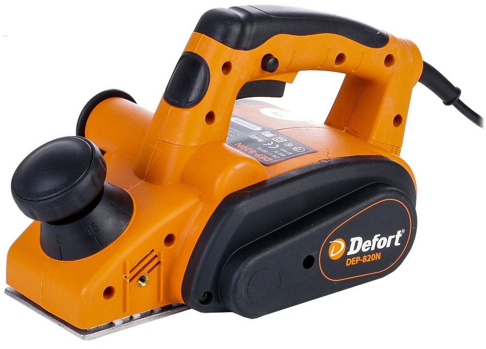 Defort DEP-820N (93720292) - электрический рубанок (Orange) от iCover