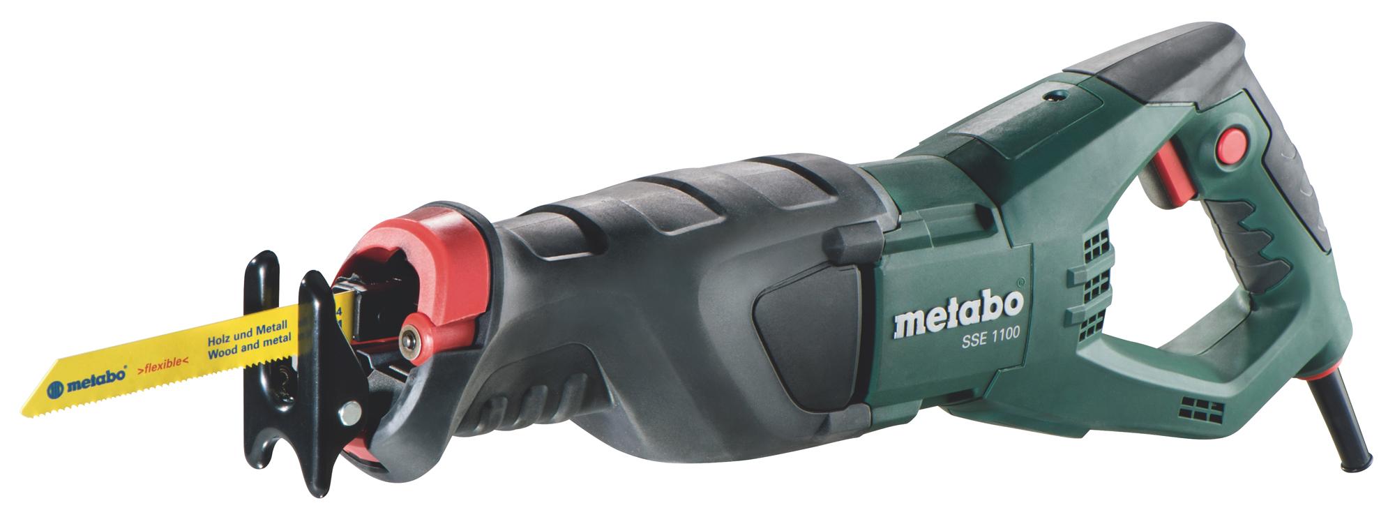 Metabo SSE 1100 (606177500) - сабельная пила (Green)